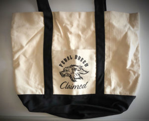 Claimed by the Feral Breed Canvas Tote